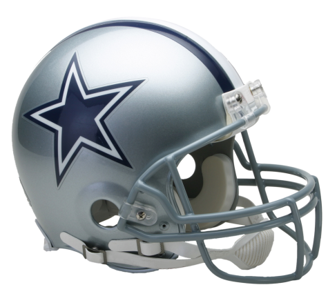 Dallas Cowboys Authentic NFL Full-Size Helmet - Dynasty Sports & Framing