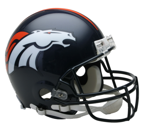 Denver Broncos Authentic NFL Full-Size Helmet - Dynasty Sports & Framing