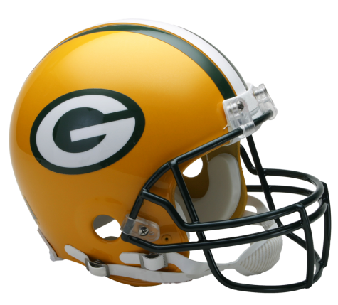 Green Bay Packers Authentic NFL Full-Size Helmet - Dynasty Sports & Framing