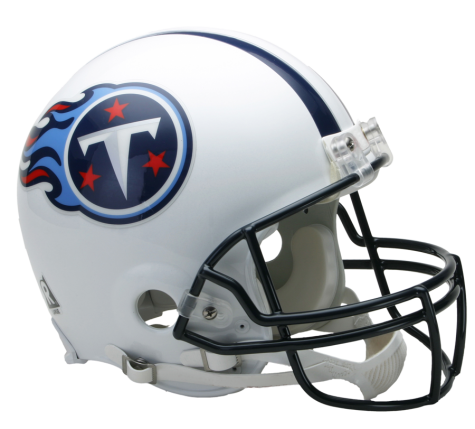 Tennessee Titans Authentic NFL Full-Size Helmet - Dynasty Sports & Framing