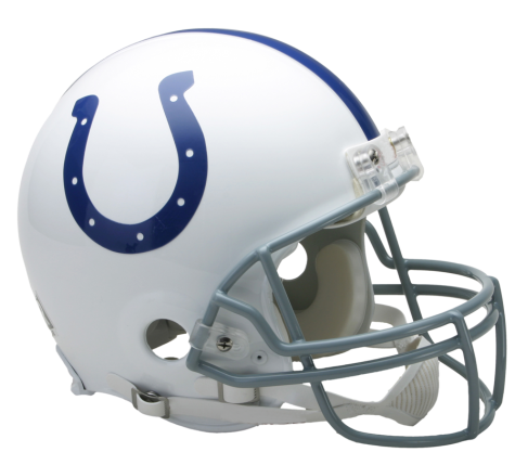 Indianapolis Colts Authentic NFL Full-Size Helmet - Dynasty Sports & Framing
