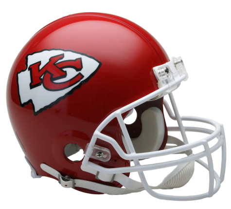 Kansas City Chiefs Authentic NFL Full-Size Helmet - Dynasty Sports & Framing