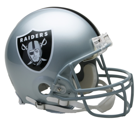 Oakland Raiders Authentic NFL Full-Size Helmet - Dynasty Sports & Framing