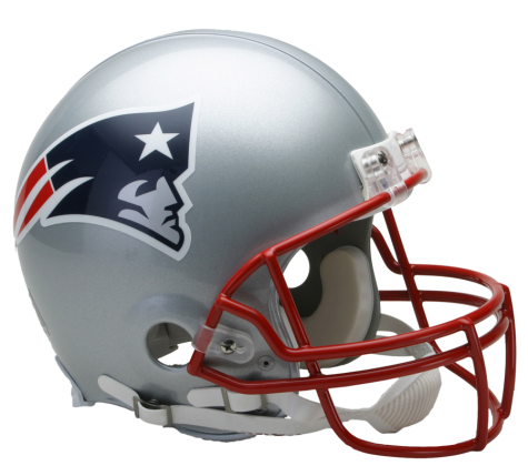 New England Patriots Authentic NFL Full-Size Helmet - Dynasty Sports & Framing