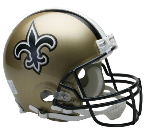 New Orleans Saints Authentic NFL Full-Size Helmet - Dynasty Sports & Framing