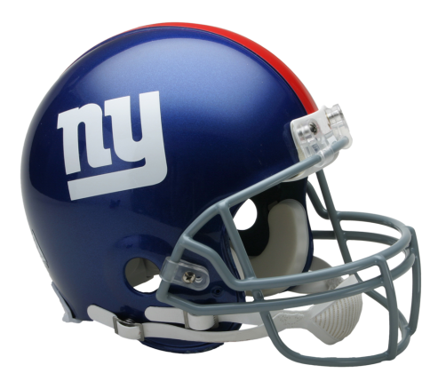 New York Giants Authentic NFL Full-Size Helmet - Dynasty Sports & Framing