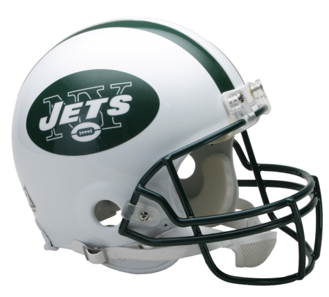New York Jets Authentic NFL Full-Size Helmet - Dynasty Sports & Framing