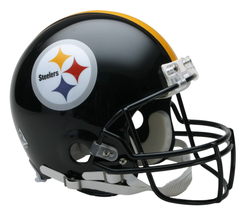 Pittsburgh Steelers Authentic NFL Full-Size Helmet - Dynasty Sports & Framing