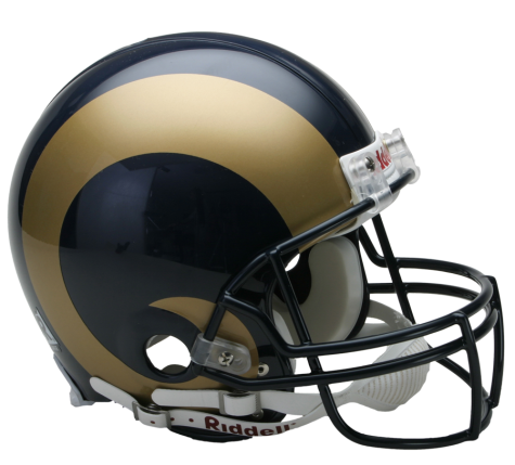 Los Angeles Rams Authentic NFL Full-Size Helmet - Dynasty Sports & Framing