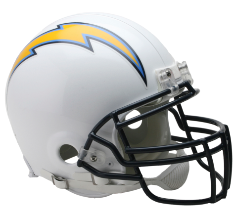 Los Angeles Chargers Authentic NFL Full-Size Helmet - Dynasty Sports & Framing