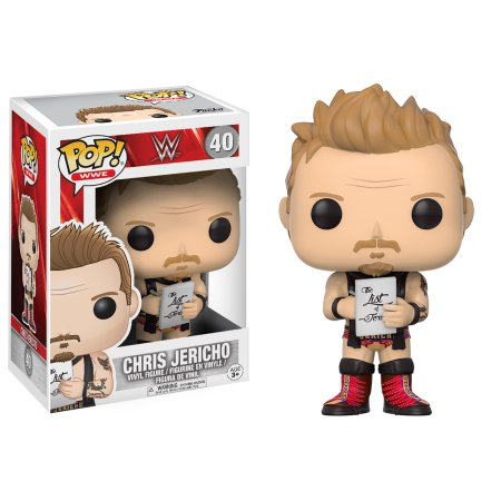 WWE Chris Jericho Funko Pop! Series 6 Vinyl Figure