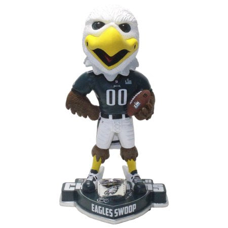 Swoop Philadelphia Eagles Super Bowl LII Champions Mascot NFL Bobblehead - Dynasty Sports & Framing