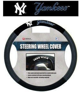 New York Yankees MLB Baseball Steering Wheel Cover - Dynasty Sports & Framing