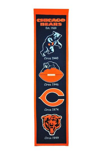 Chicago Bears NFL Heritage Banner - Dynasty Sports & Framing