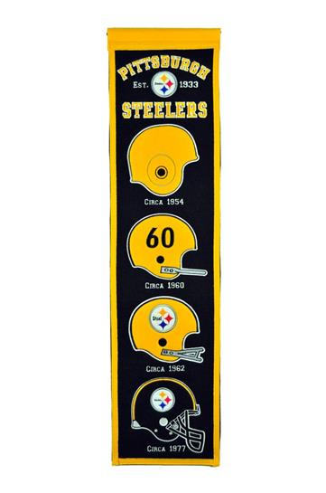 Pittsburgh Steelers NFL Heritage Banner - Dynasty Sports & Framing