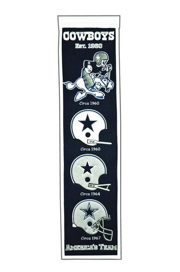 Dallas Cowboys NFL Heritage Banner