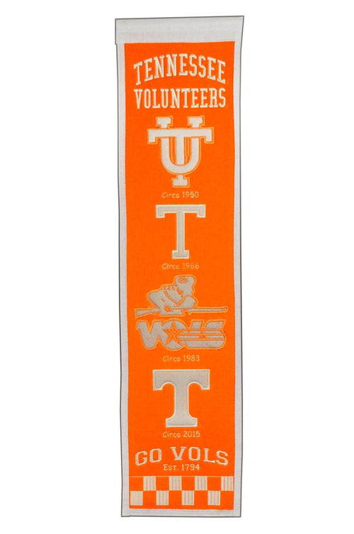 Tennessee Volunteers NCAA Heritage Banner