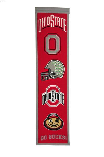 Ohio State Buckeyes NCAA Heritage Banner - Dynasty Sports & Framing