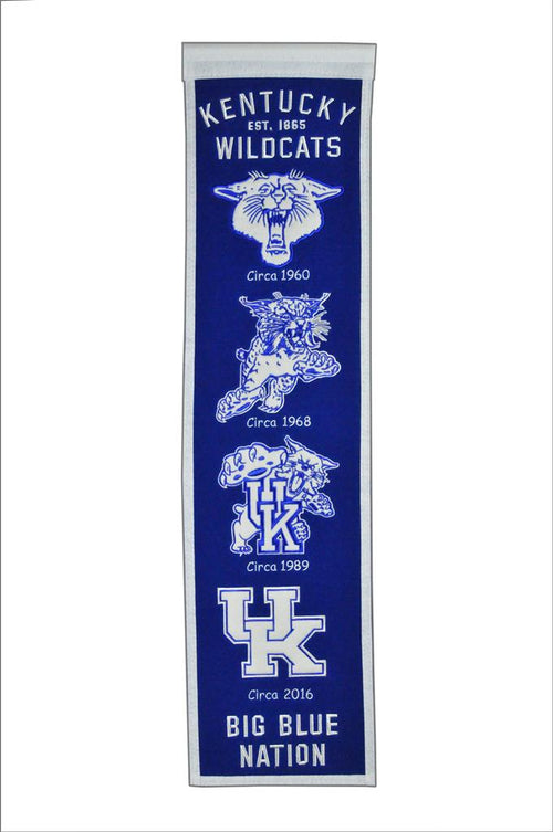Kentucky Wildcats NCAA Heritage Banner - Dynasty Sports & Framing