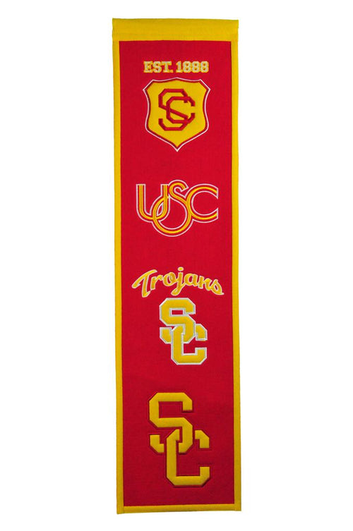 Southern California Trojans NCAA Heritage Banner - Dynasty Sports & Framing