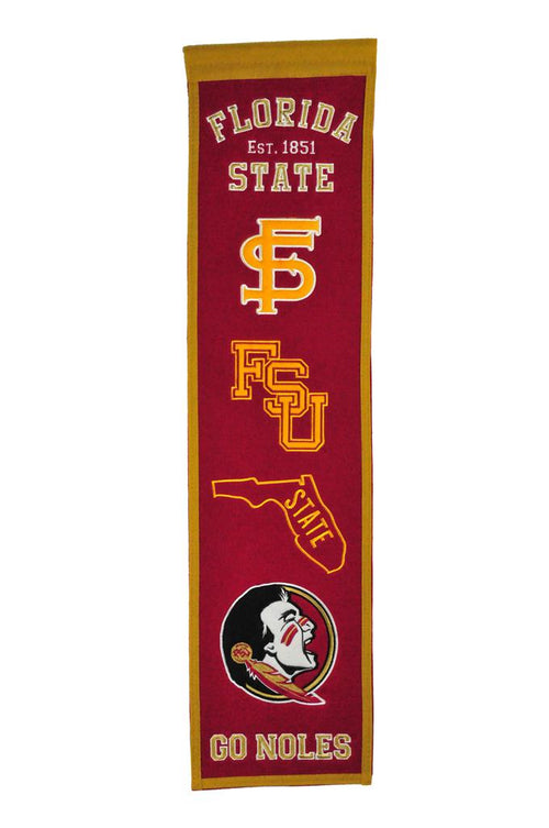 Florida State Seminoles NCAA Heritage Banner - Dynasty Sports & Framing
