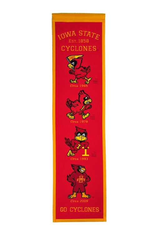 Iowa State Cyclones NCAA Heritage Banner - Dynasty Sports & Framing