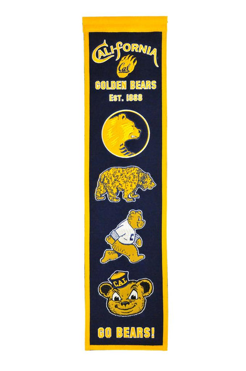 California Golden Bears NCAA Heritage Banner