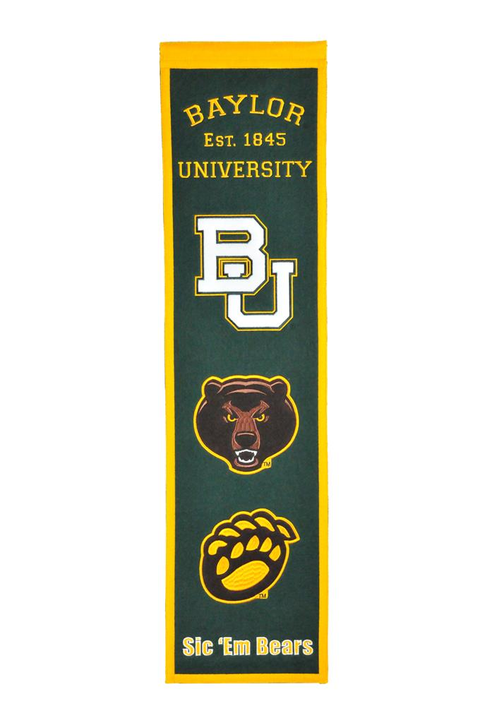 Baylor Bears NCAA Heritage Banner - Dynasty Sports & Framing