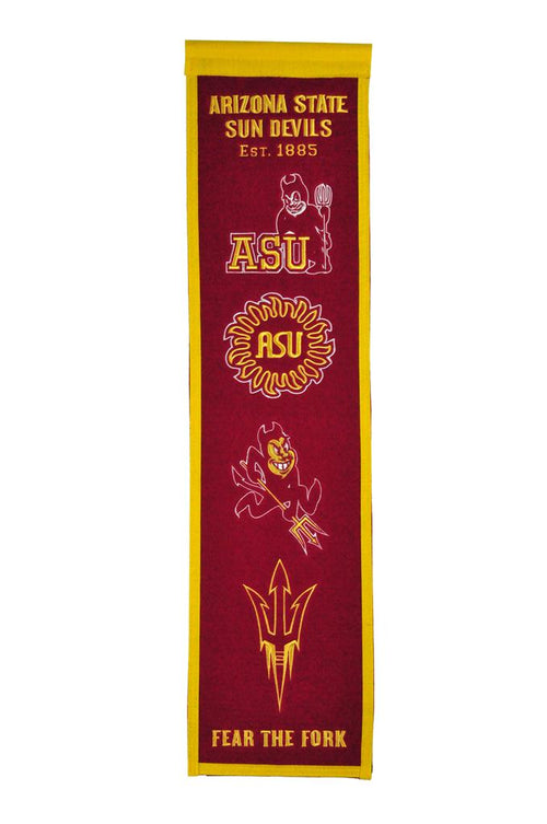Arizona State Sun Devils NCAA Heritage Banner - Dynasty Sports & Framing