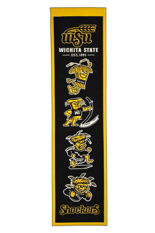 Wichita State Shockers NCAA Heritage Banner - Dynasty Sports & Framing