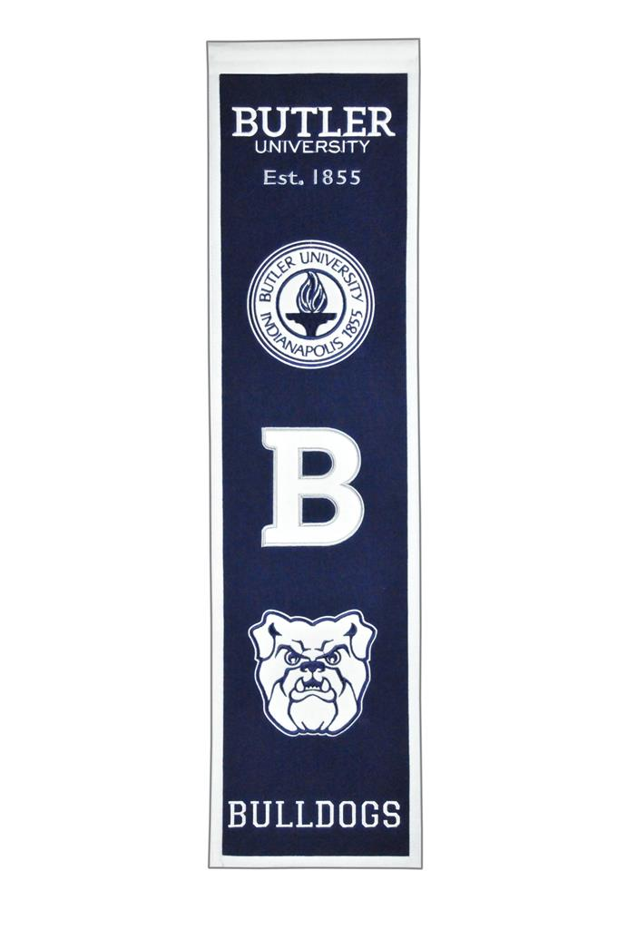 Butler Bulldogs NCAA Heritage Banner - Dynasty Sports & Framing