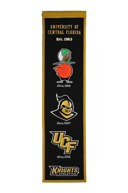 Central Florida Knights NCAA Heritage Banner - Dynasty Sports & Framing