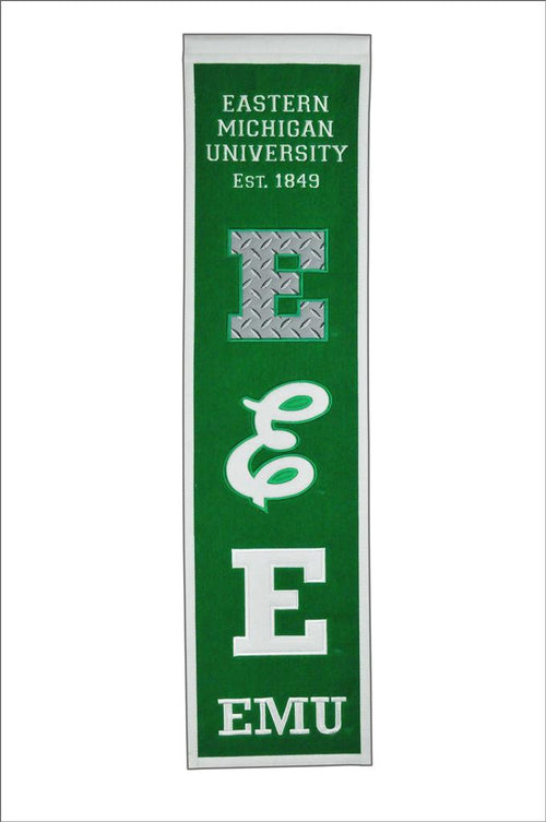 Eastern Michigan Eagles NCAA Heritage Banner - Dynasty Sports & Framing