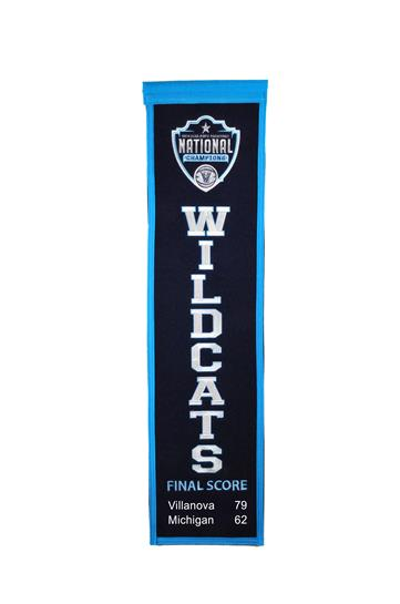 Villanova Wildcats NCAA College 2018 Heritage Championship Banner - Dynasty Sports & Framing