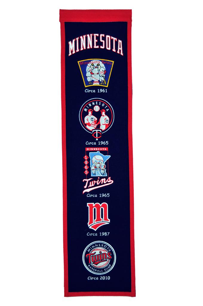 Minnesota Twins MLB Baseball Heritage Banner - Dynasty Sports & Framing
