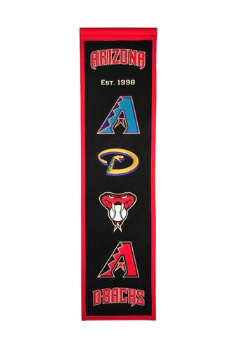 Arizona Diamondbacks MLB Baseball Banner - Dynasty Sports & Framing