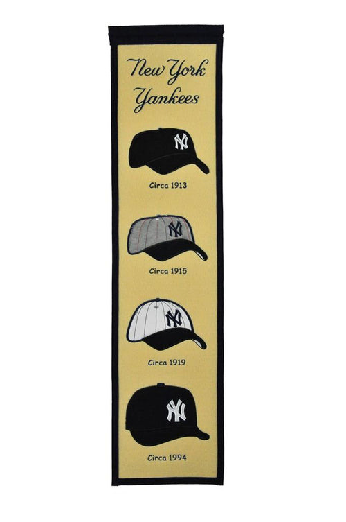 New York Yankees Caps MLB Baseball Heritage Banner