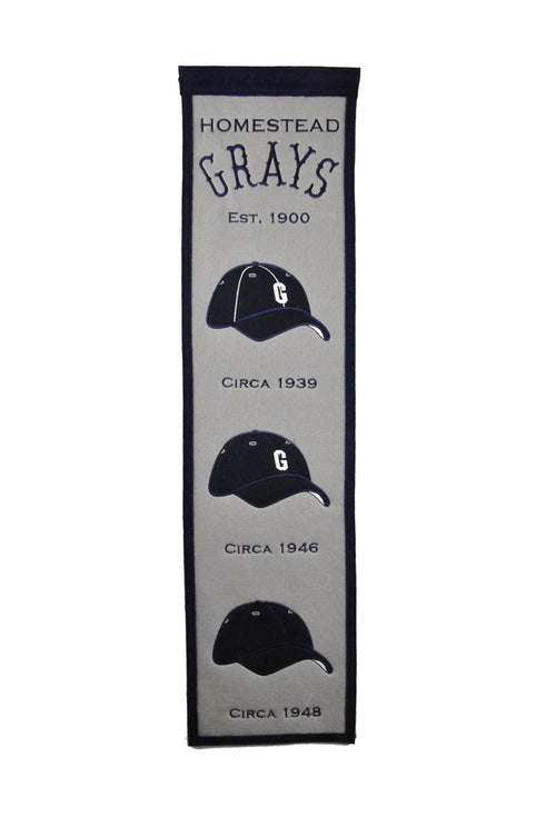 Homestead Grays NNL Baseball Heritage Banner - Dynasty Sports & Framing