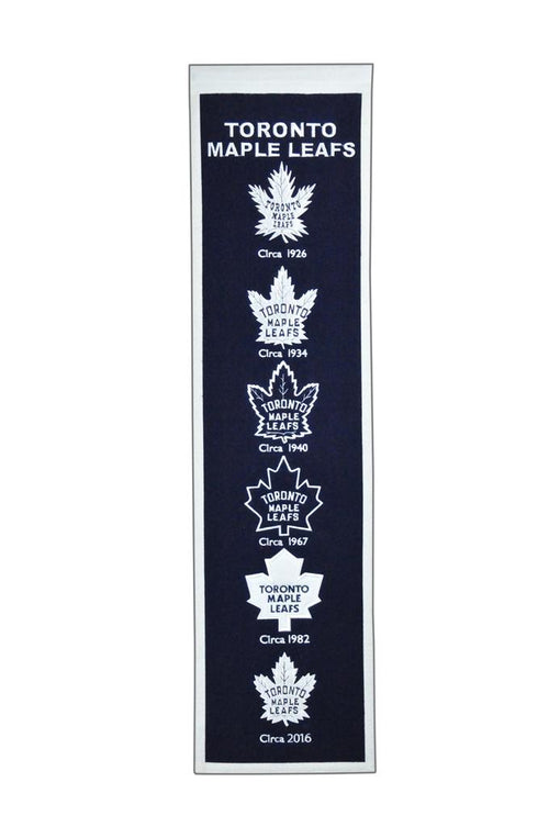 Toronto Maple Leafs NHL Hockey Heritage Banner - Dynasty Sports & Framing