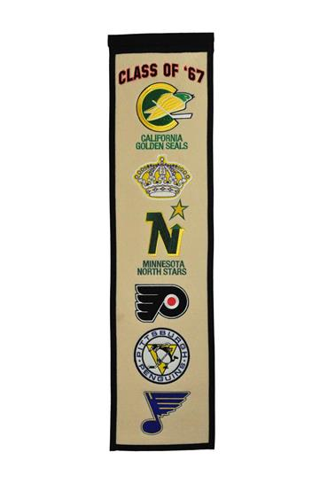 NHL Class of '67 Hockey Heritage Banner