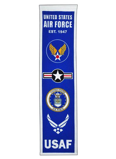 United States Air Force Logo Military Heritage Banner - Dynasty Sports & Framing