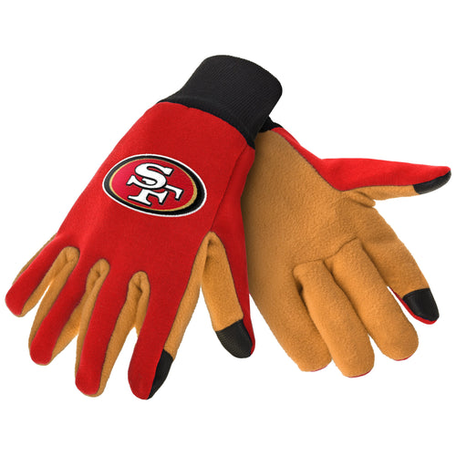 San Francisco 49ers NFL Football Texting Gloves