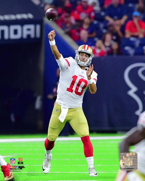 "Jimmy Garoppolo in Action San Francisco 49ers 8"" x 10"" Photo - Dynasty Sports & Framing"