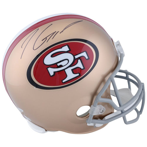 Jimmy Garoppolo San Francisco 49ers Autographed NFL Football Full-Size Replica Helmet - Dynasty Sports & Framing