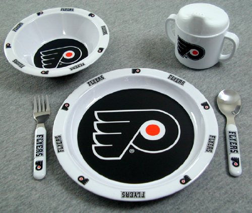 Philadelphia Flyers 5-pc Bbay Dinner Set - Dynasty Sports & Framing