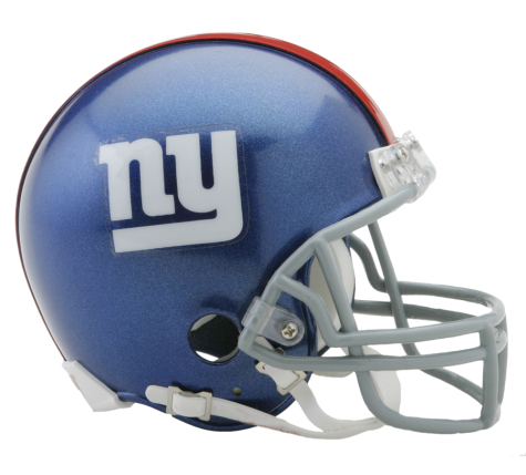 New York Giants NFL Riddell Mini-Helmet - Dynasty Sports & Framing