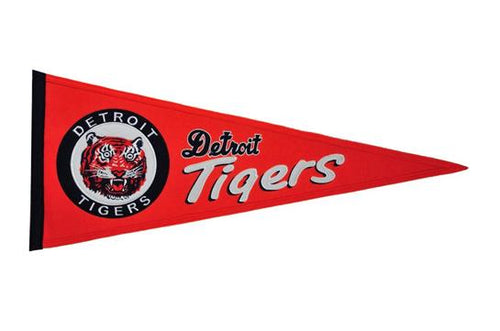 Detroit Tigers MLB Baseball Cooperstown Pennant
