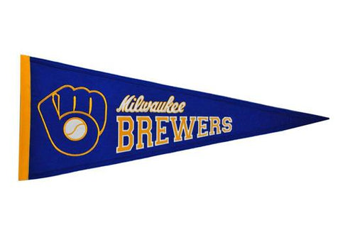 Milwaukee Brewers MLB Baseball Cooperstown Pennant - Dynasty Sports & Framing