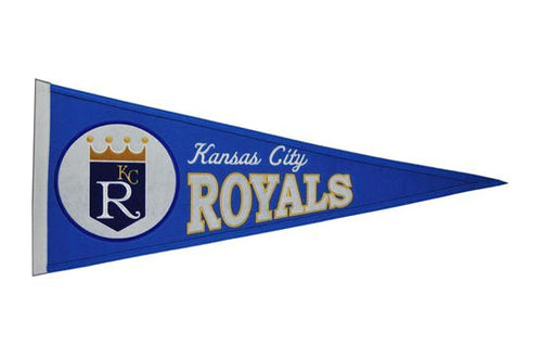 Kansas City Royals MLB Baseball Cooperstown Pennant