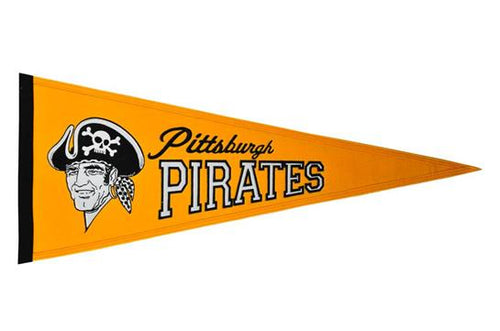Pittsburgh Pirates MLB Baseball Cooperstown Pennant
